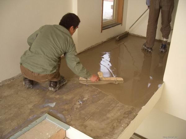 水泥自流平施工工艺及效果图